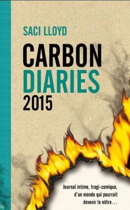 Couverture du livre : The Carbon Diaries 2015