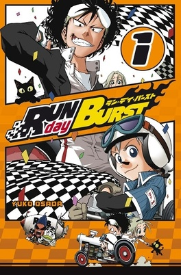 Couverture du livre : Run day Burst, Tome 1