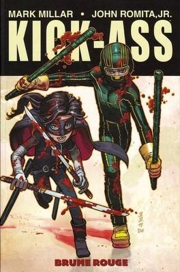 Couverture du livre : Kick-Ass, tome 2 : Brume rouge