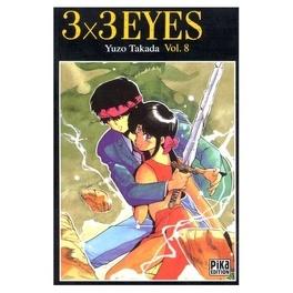 Couverture du livre : 3x3 Eyes tome 8