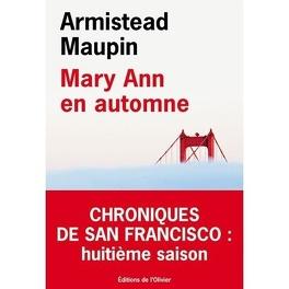 Couverture du livre : Chroniques de San Francisco, tome 8 : Mary Ann en automne