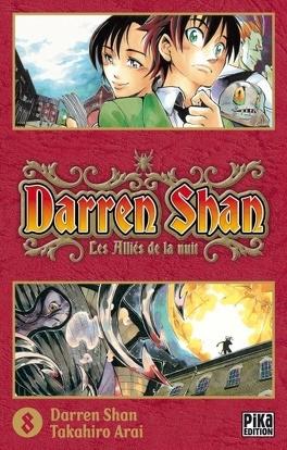 Couverture du livre : Darren Shan, Tome 8 : Les Alliés de la Nuit (manga)