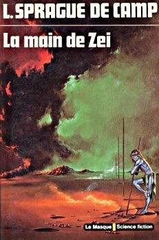 Couverture du livre : La Saga de Zeï, Tome 2 : La Main de Zeï