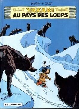Couverture du livre : Yakari, tome 8 : Au pays des loups