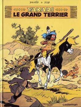 Couverture du livre : Yakari, tome 10 : Le Grand Terrier