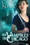 couverture Les Vampires de Chicago, Tome 1 : Certaines mettent les dents