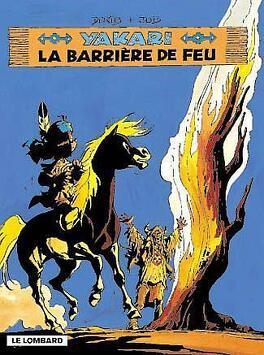 Couverture du livre : Yakari, tome 19 : La Barrière de feu