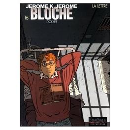 Couverture du livre : Jérôme K. Jérôme Bloche, Tome 16 : La Lettre