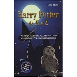 Couverture de Harry Potter de A à Z