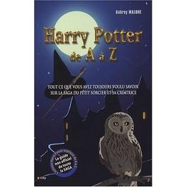 Couverture du livre : Harry Potter de A à Z