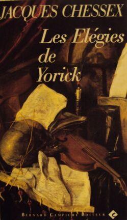 Couverture du livre : Les Elégies de Yorick