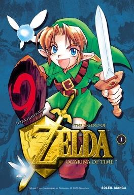 Couverture du livre : The Legend of Zelda : Ocarina Of Time, tome 1