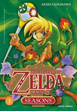Couverture du livre : The Legend of Zelda : Oracle of Seasons
