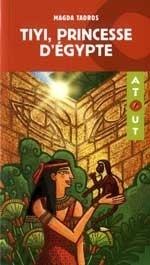 Couverture du livre : Tiyi, princesse d'Égypte