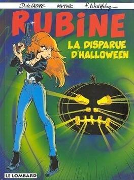 Couverture du livre : Rubine, tome 5 : La disparue d'halloween