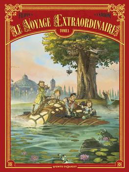 Couverture du livre : Le voyage extraordinaire, tome 1