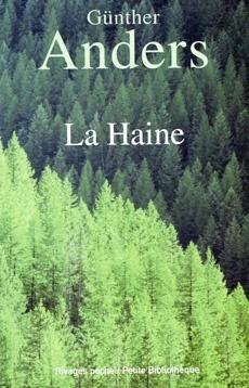 Couverture du livre : La Haine