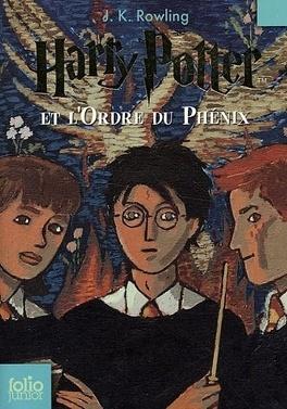 Couverture du livre : Harry Potter, Tome 5 : Harry Potter et l'Ordre du Phénix
