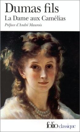 Couverture du livre : La Dame aux camélias
