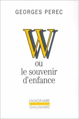 Couverture du livre : W ou le souvenir d'enfance
