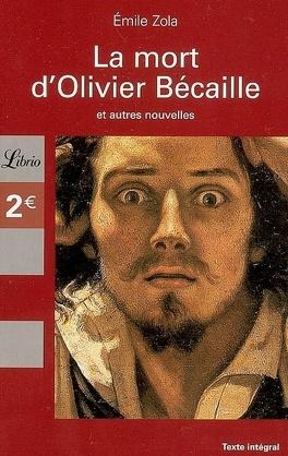 Couverture du livre : La mort d'Olivier Bécaille