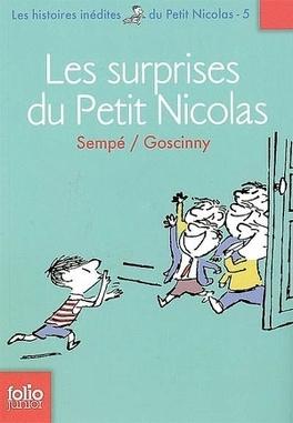 Couverture du livre : Les surprises du Petit Nicolas