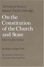 Couverture du livre : Sur la constitution de l'Église et de l'État