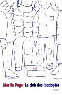 Couverture du livre : le club des inadaptés