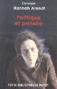 Couverture du livre : Politique et pensée
