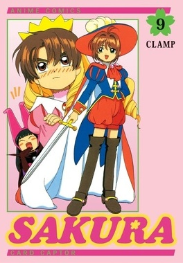 Couverture du livre : Card captor Sakura - Anime comics, tome 9