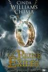 couverture Les Sept Royaumes, Tome 2 : La Reine Exilée