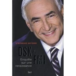 Couverture du livre : DSK au FMI, Enquête sur une renaissance