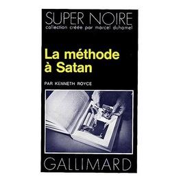 Couverture du livre : La méthode a Satan