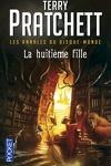 couverture Les Annales du Disque-Monde, tome 3 : La huitième fille