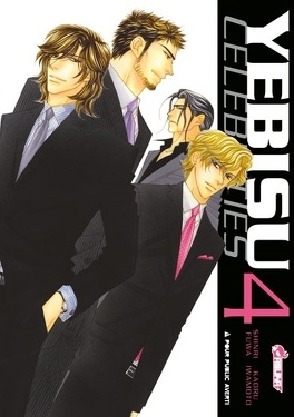 Couverture du livre : Yebisu Celebrities, Tome 4