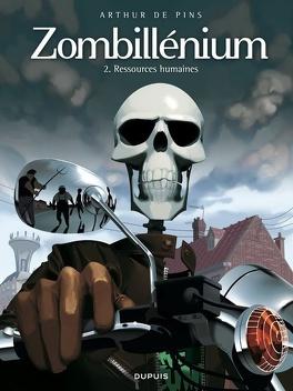 Couverture du livre : Zombillénium, Tome 2 : Ressources humaines