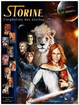 Couverture du livre : Storine l'orpheline des étoiles, tome 9 : Le fléau de Vinor