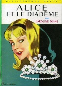 Couverture du livre : Alice et le diadème