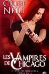 couverture Les Vampires de Chicago, Tome 2 : Petites morsures entre amis