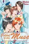 couverture School of the Muse, Tome 3