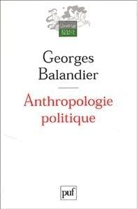 Couverture du livre : Anthropologie politique