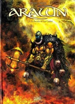 Couverture du livre : Arawn, Tome 3 : La bataille de Cad Goddun