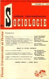 Couverture du livre : Georges Gurvitch, sa vie, son oeuvre