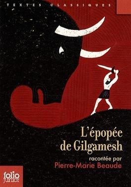 Couverture du livre : L'Épopée de Gilgamesh