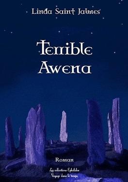Couverture du livre : La saga des enfants des dieux, Tome 1 : Terrible Awena