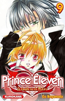 Couverture du livre : Prince eleven - La double vie de Midori, tome 9