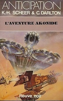 Couverture du livre : FNA -1037- Perry Rhodan, tome 51 : L'aventure Akonide
