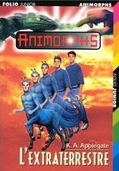 Couverture du livre : Animorphs, Tome 8 : L'Extraterrestre