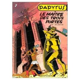 Couverture du livre : Papyrus, Tome 2 : Le Maître des trois portes