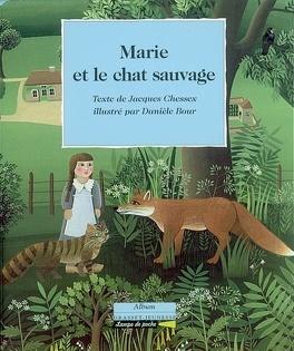 Couverture du livre : Marie et le chat sauvage